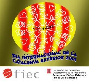 Cartell del Dia Internacional de la Catalunya Exterior 2014